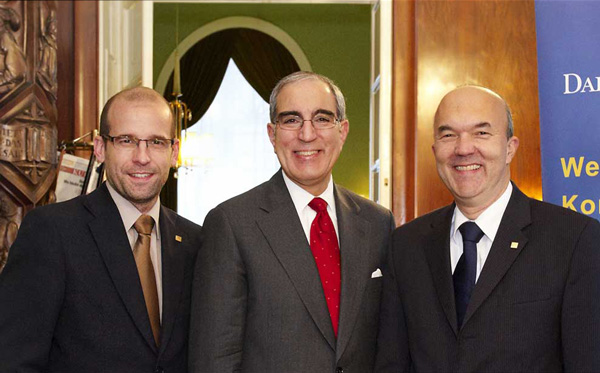 Von links nach rechts: Clemens Widhalm, Peter Handal, Robert Korp