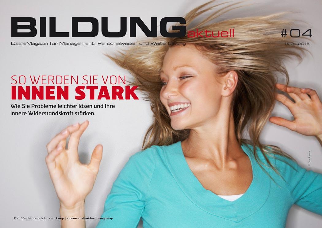 BILDUNGaktuell Magazin 04/2015