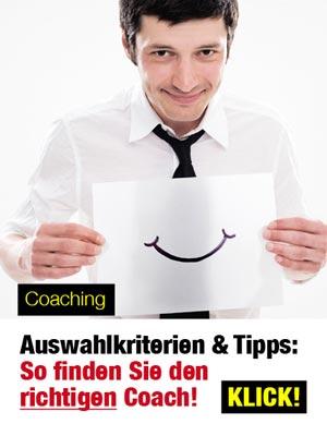 Coaching: Auswahlkriterien und Tipps