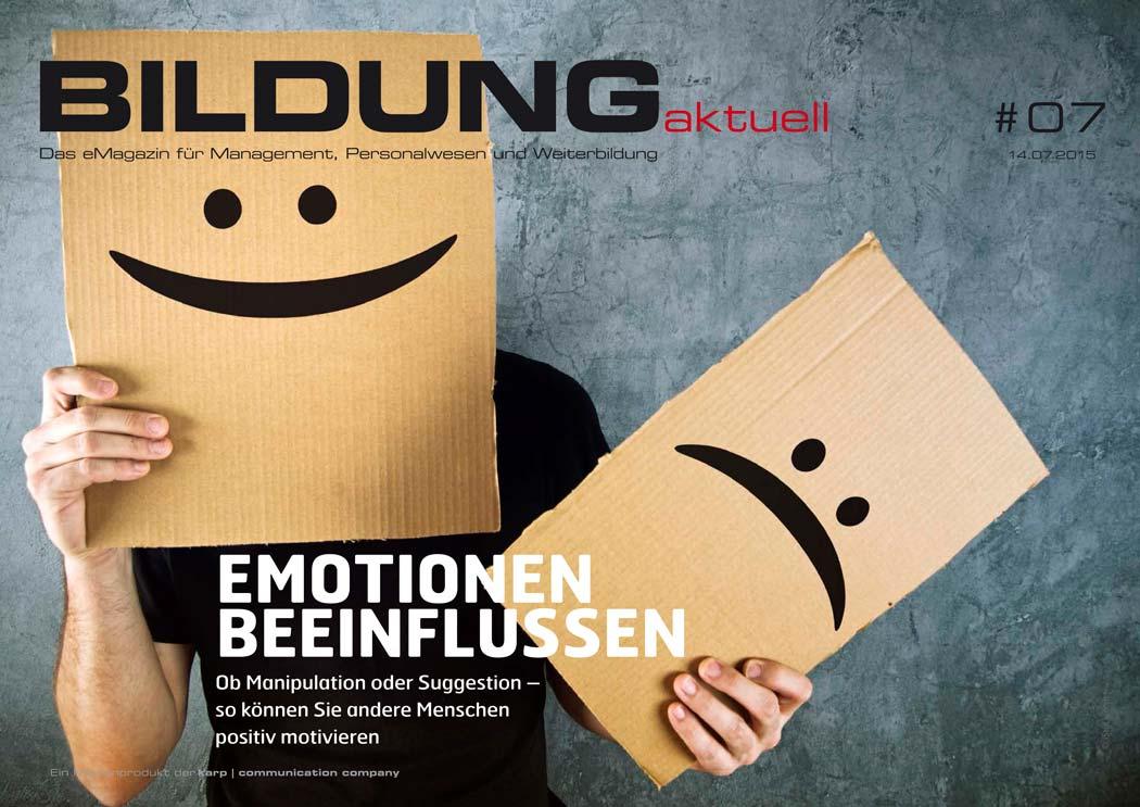 BILDUNGaktuell Magazin 07/2015