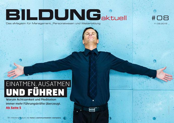 BILDUNGaktuell Magazin 08/2015