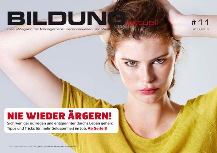 BILDUNGaktuell Magazin 11/2015