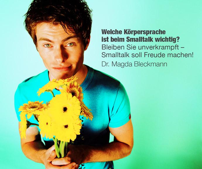 Smalltalk: Auf die Körpersprache kommt es auch an!